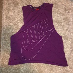 Women's Nike bro tank